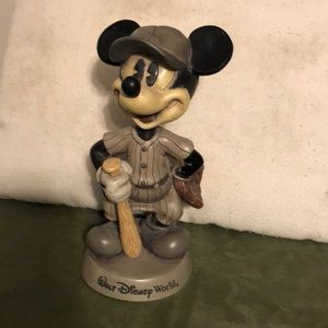 Vintage Mickey Mouse Baseball Bobblehead